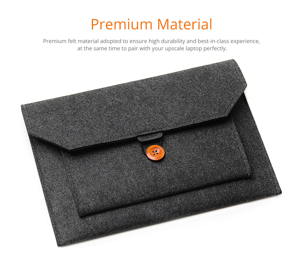 Fashionable Briefcase 13-15 inch Laptop Accessories Laptop Case Cover, Durable Clutch Handbag fits for Macbook Pro 13.3'' Apple Air 13'' 6