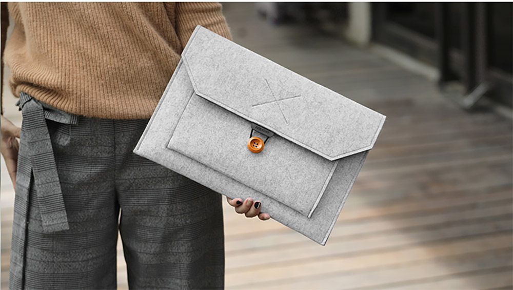 Fashionable Briefcase 13-15 inch Laptop Accessories Laptop Case Cover, Durable Clutch Handbag fits for Macbook Pro 13.3'' Apple Air 13'' 15