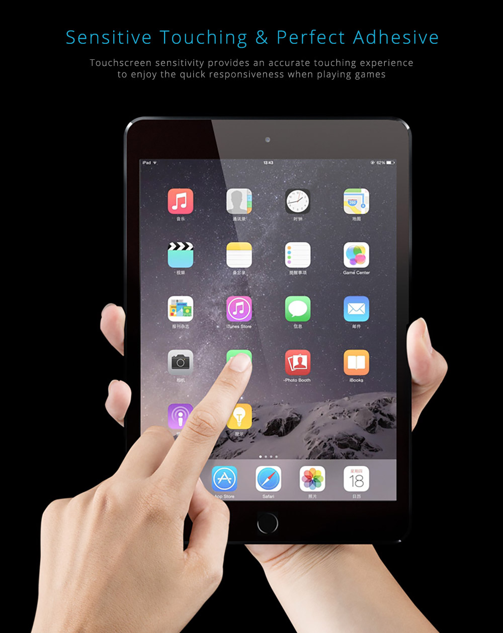 Screen Protector for iPad Mini 1/2/3, iPad Mini 4 Protective Screen 7.9 inch 10