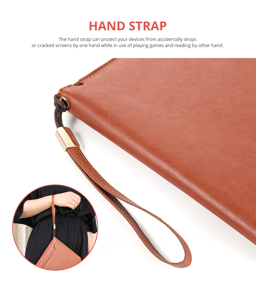 Leather Smart Stand Folio Business Wallet Case Cover for iPad 1/2/3/4 iPad Mini iPad Air 1/2 12