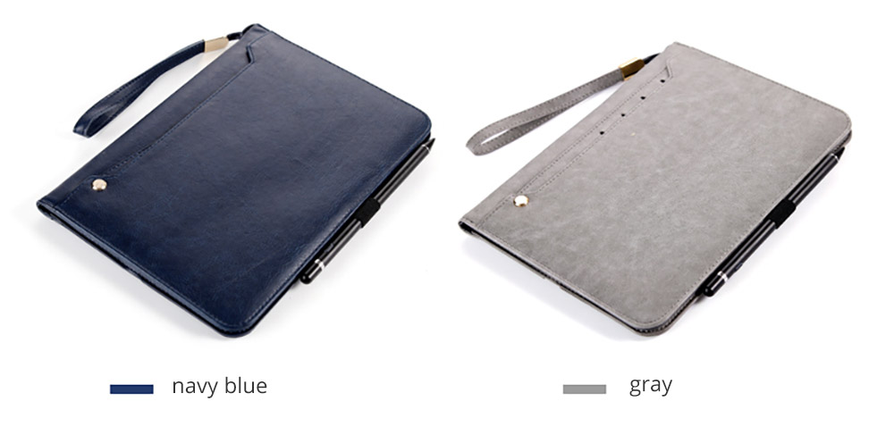 Leather Smart Stand Folio Business Wallet Case Cover for iPad 1/2/3/4 iPad Mini iPad Air 1/2 17