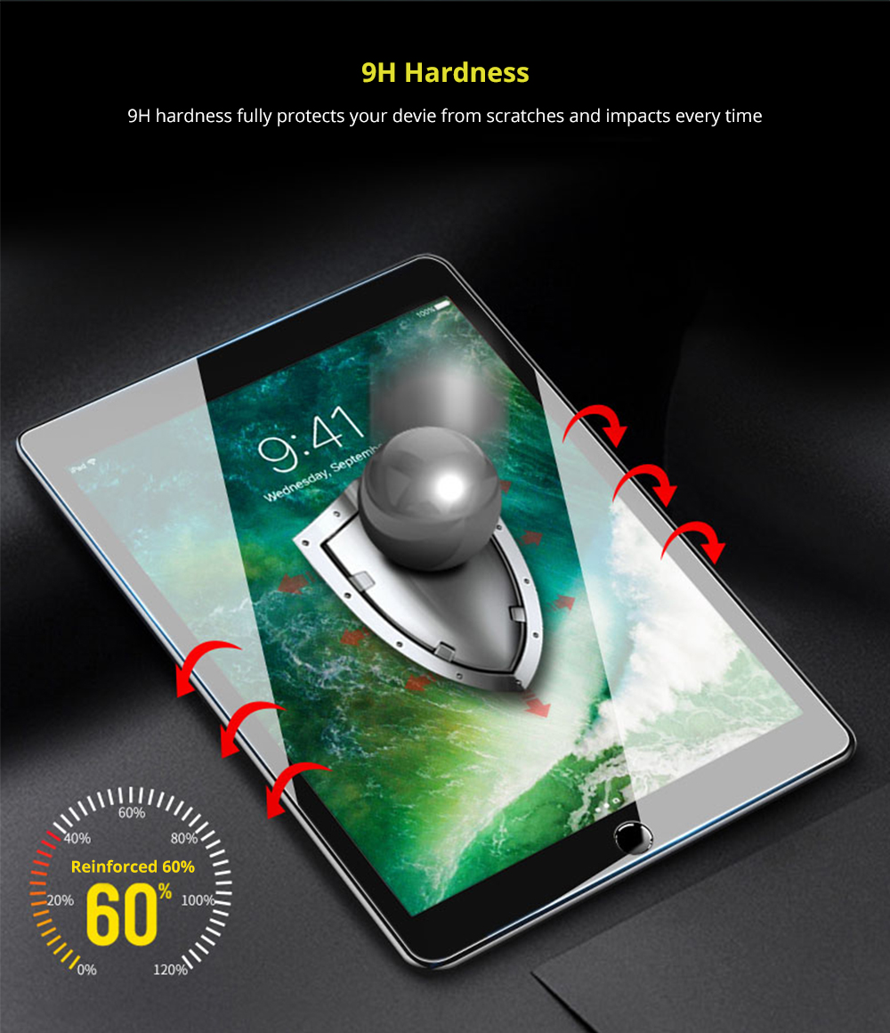 9H Hardness tablet screen protector