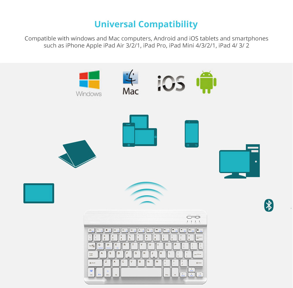 Universal Compatibility Bluetooth Keyboard