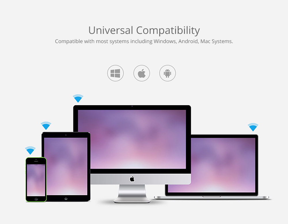 Universal Compatibility Wireless Mouse