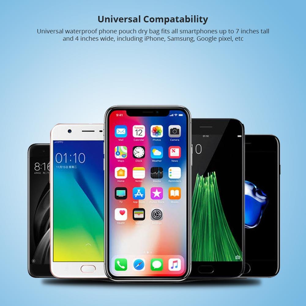 Universal Compatability Waterproof Smartphone Case