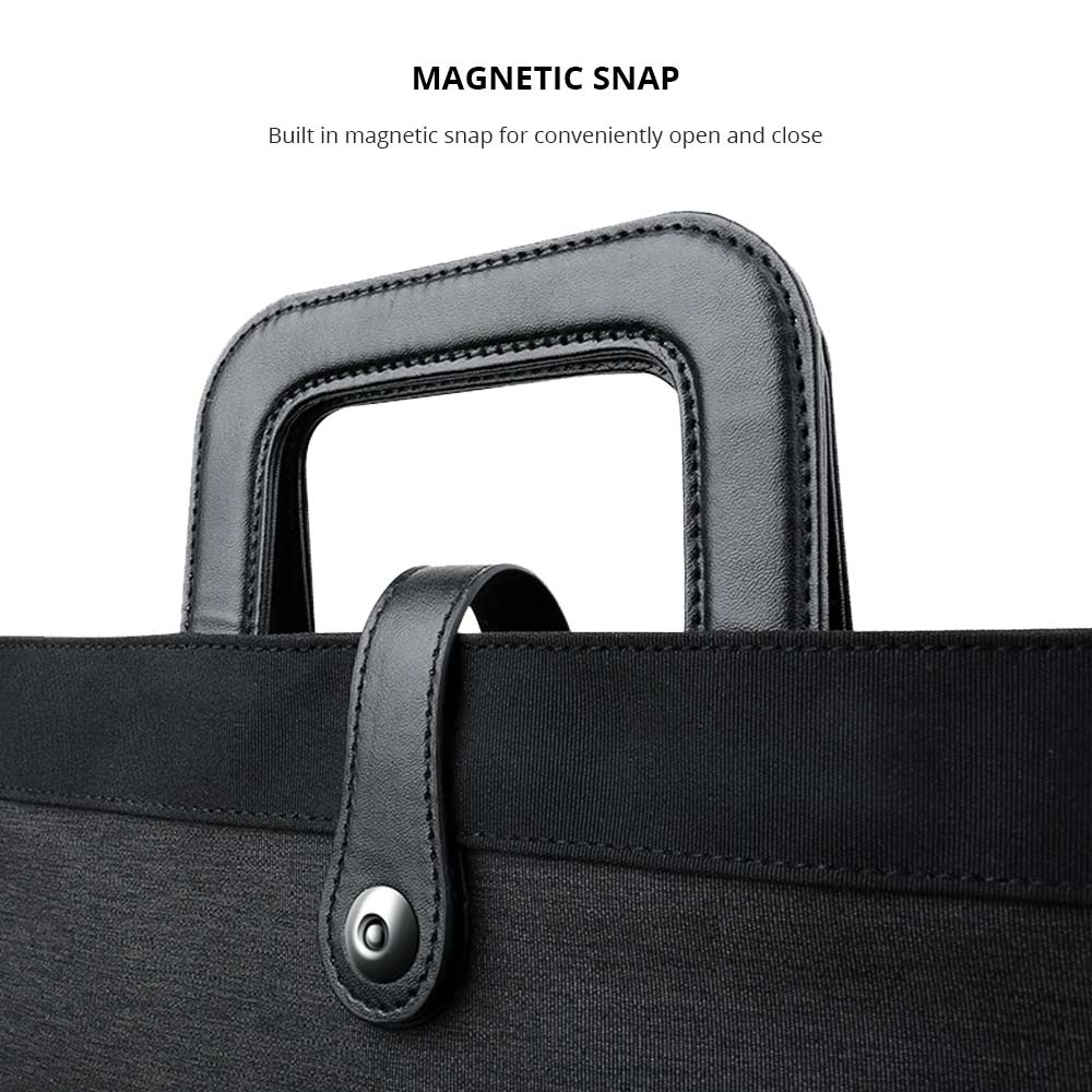 Laptop Briefcase with Magnetic Snap