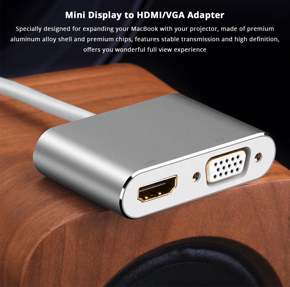 Mini Display to HDMI/VGA Adapter