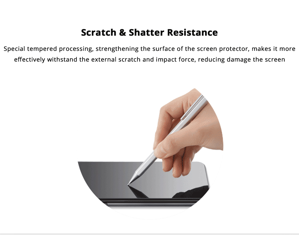 Scratch & Shatter Resistance iPhone Screen Protector