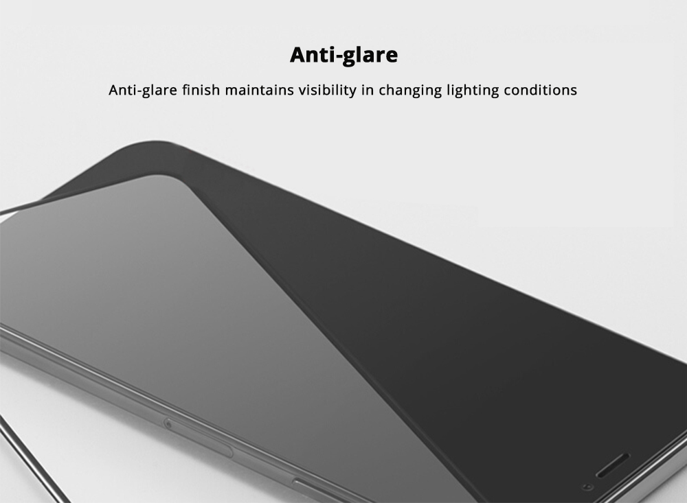 Impact Shield Anti-glare Precise-align Perfect Fit Screen Protector for iPhone X, iPhone 8/8 Plus, iPhone 7/7 Plus Protective Screen Skin Protector 11