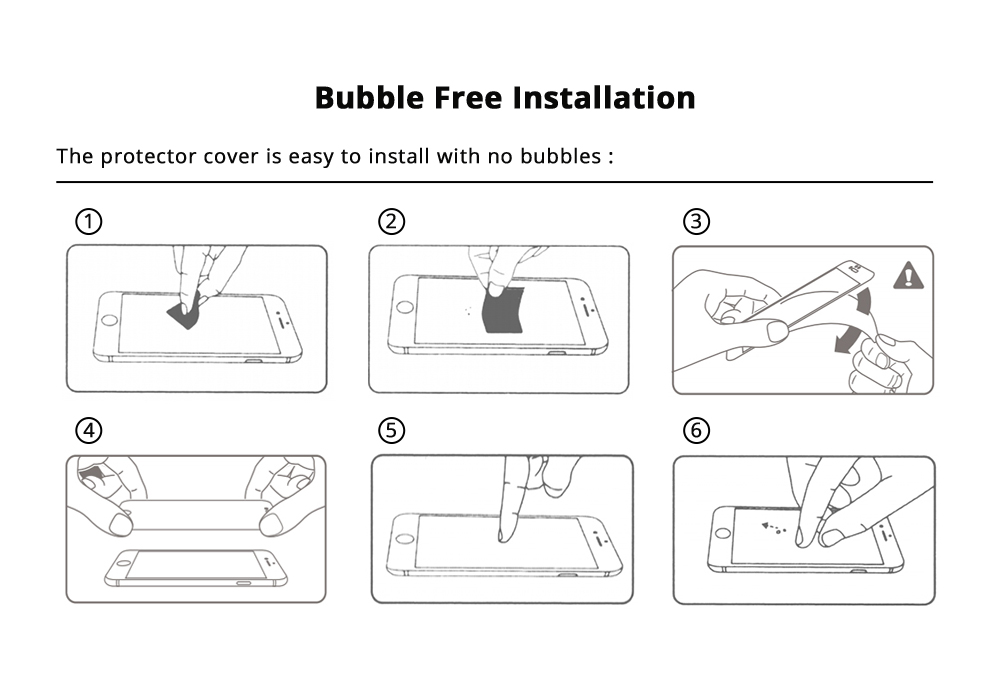 Bubble Free Installation