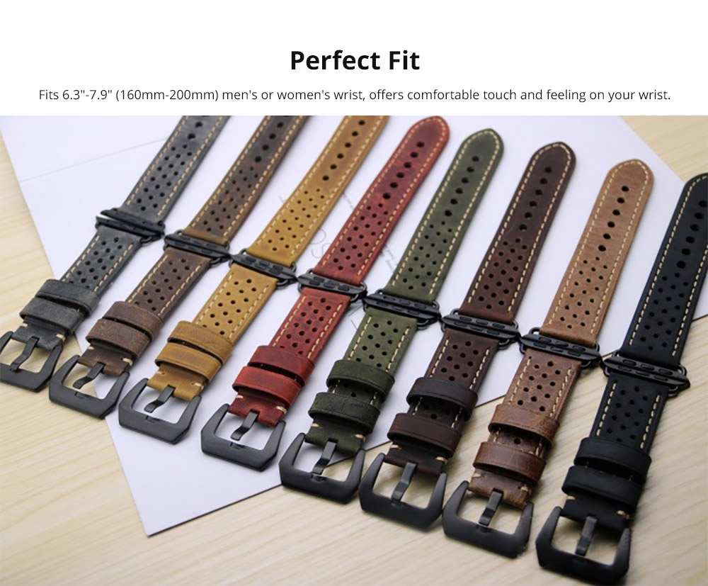 "Fits 6.3""-7.9"" (160mm-200mm) men's or women's wrist"