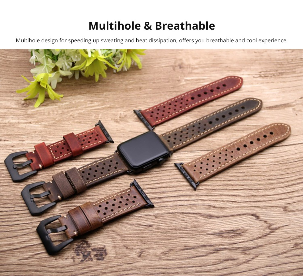 Multihole & Breathable Apple iWatch Band