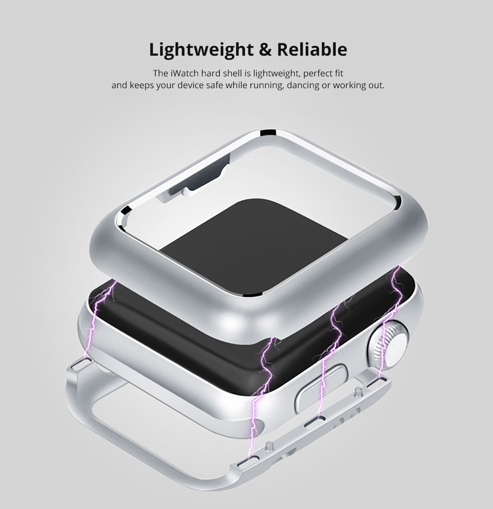 Lightweight & Reliable iWatch hard shell