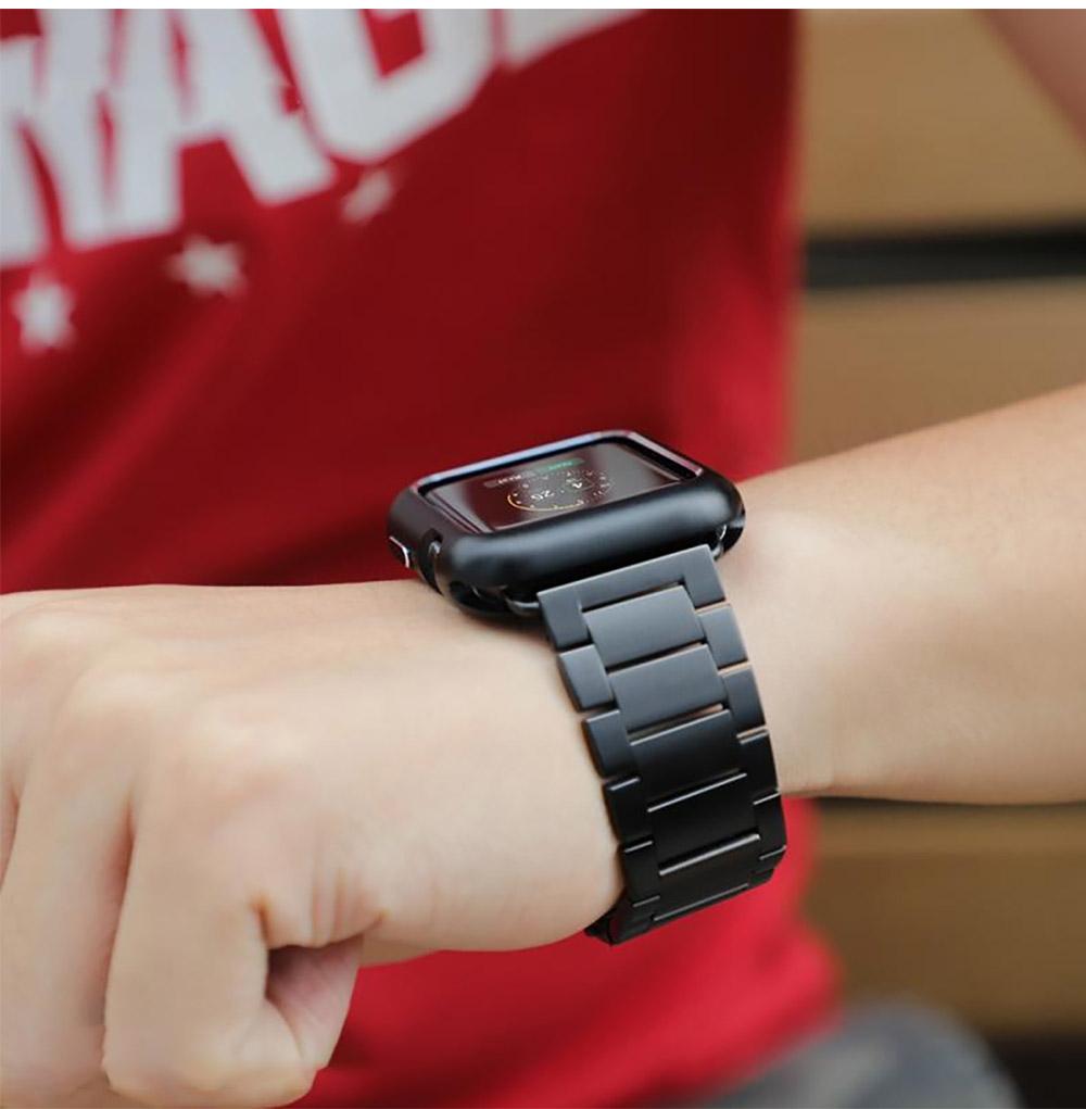 Premium Aluminum iwatch Protective Case