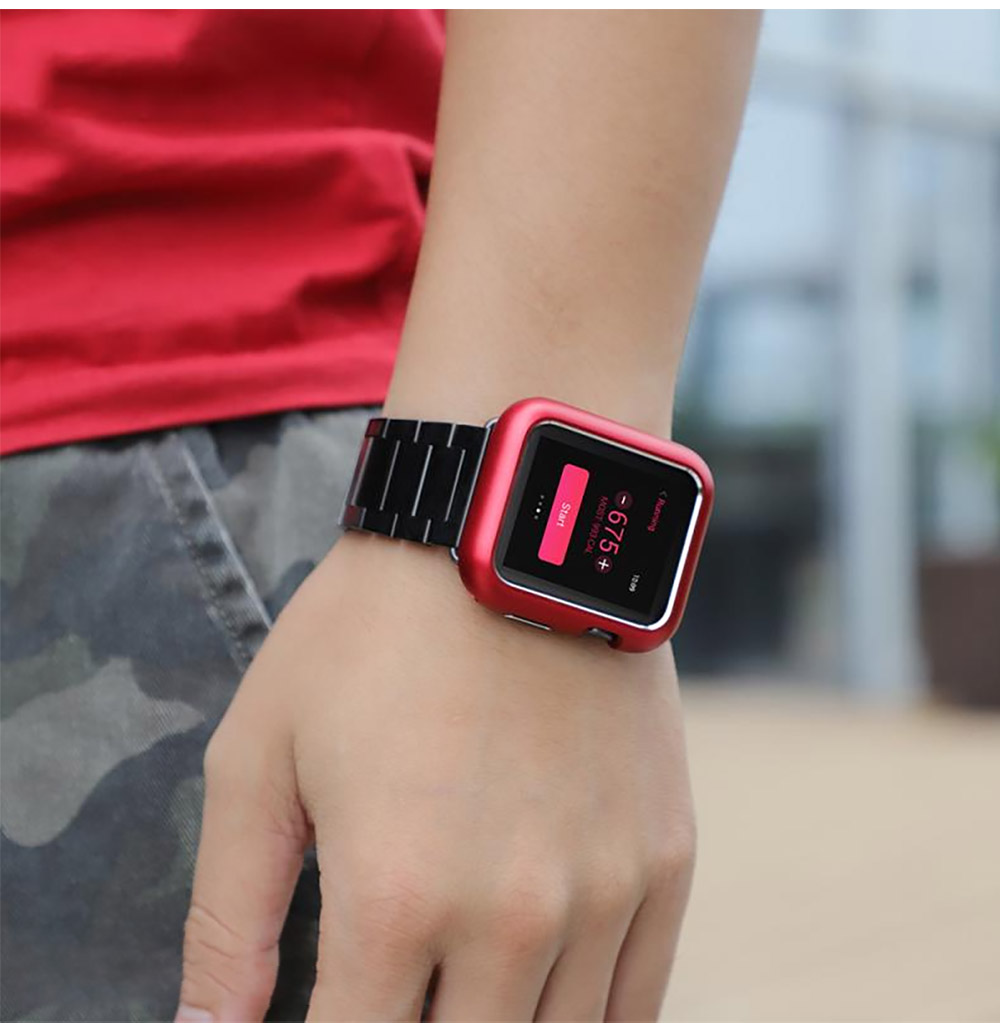 Hard Shell Anti-impact Anti-Scratch Cover for Apple iWatch