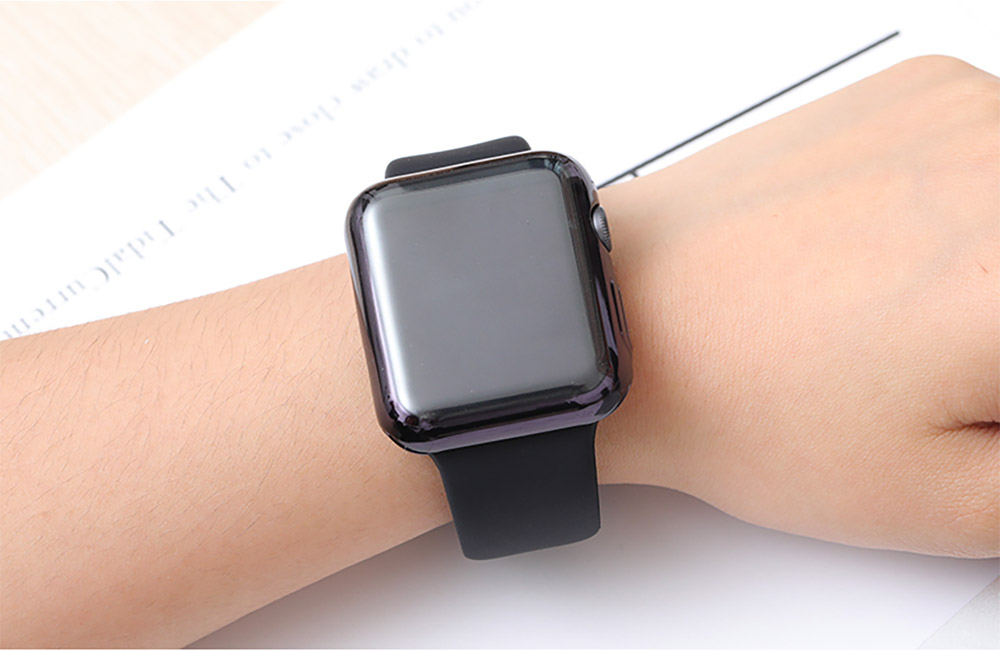 Superior Flexible TPU Protective Case Compatible with Apple iWatch Anti-impact Anti-Scratch Soft Cover for Apple iWatch 13