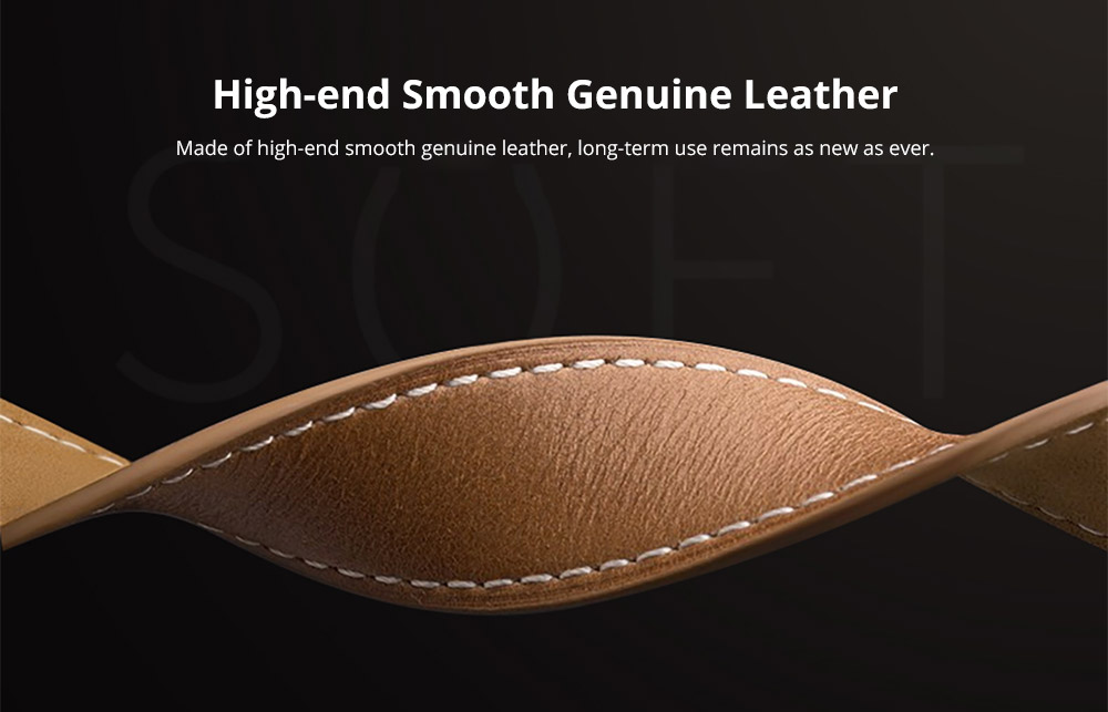 High-end Smooth Genuine Leather band