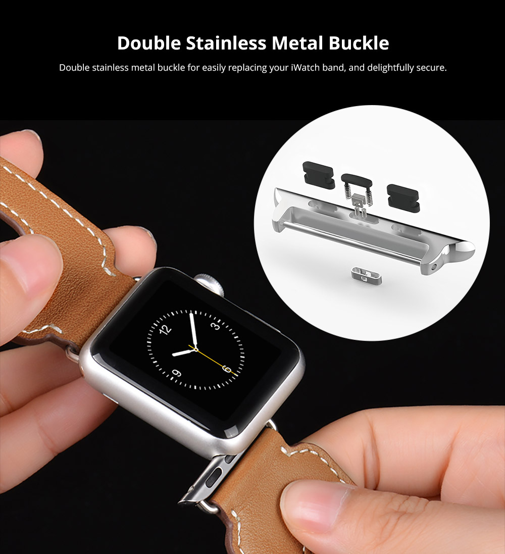 Double Stainless Metal Buckle