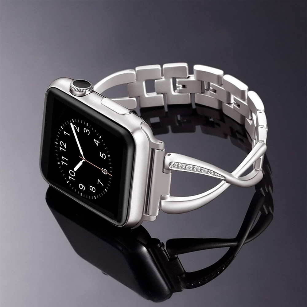 38mm Women Stainless Steel Watch Band