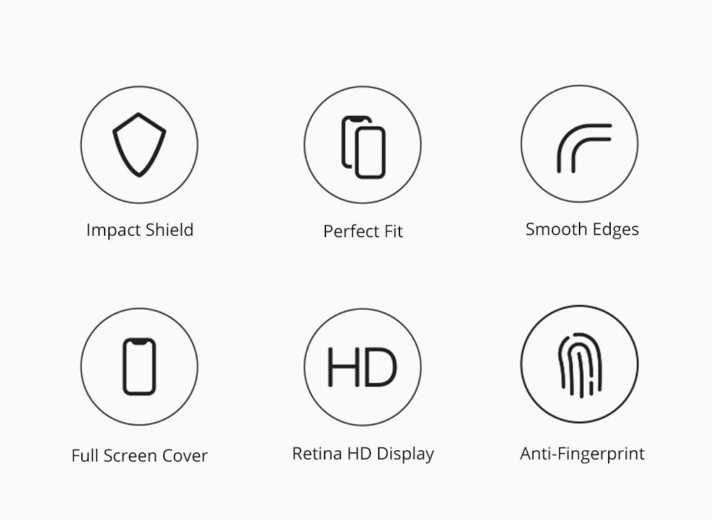 Phone Accessories Impact Shield Anti-glare Precise-align Perfect Fit Screen Protector for iPhone 8/8 Plus, iPhone 7/7 Plus Protective Screen 4.7-5.5 inch Skin Protector 7