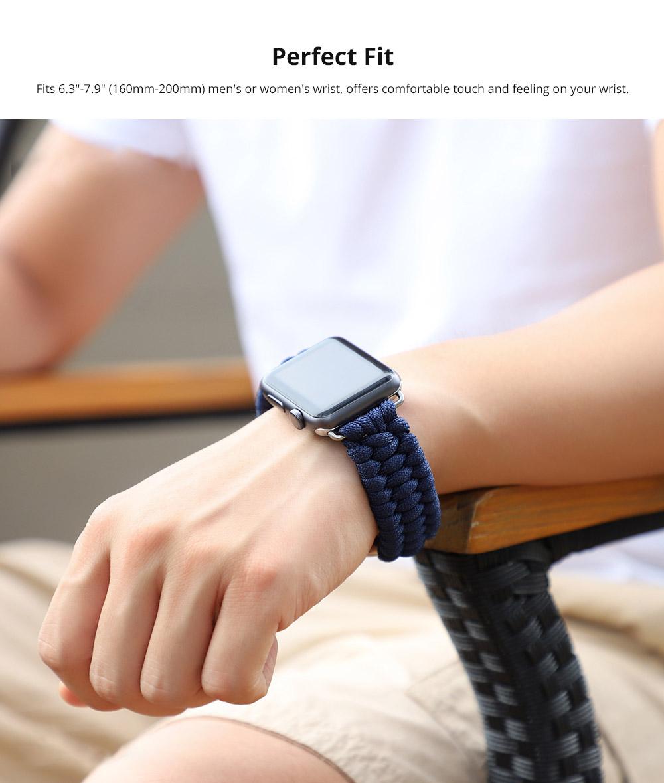 "Fits 6.3""-7.9"" (160mm-200mm) men's or women's wrist"