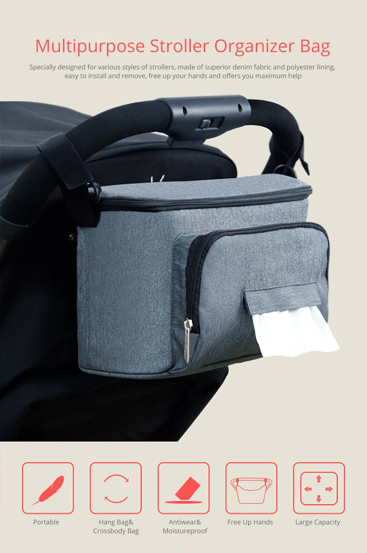 Multipurpose Stroller Organizer Bag