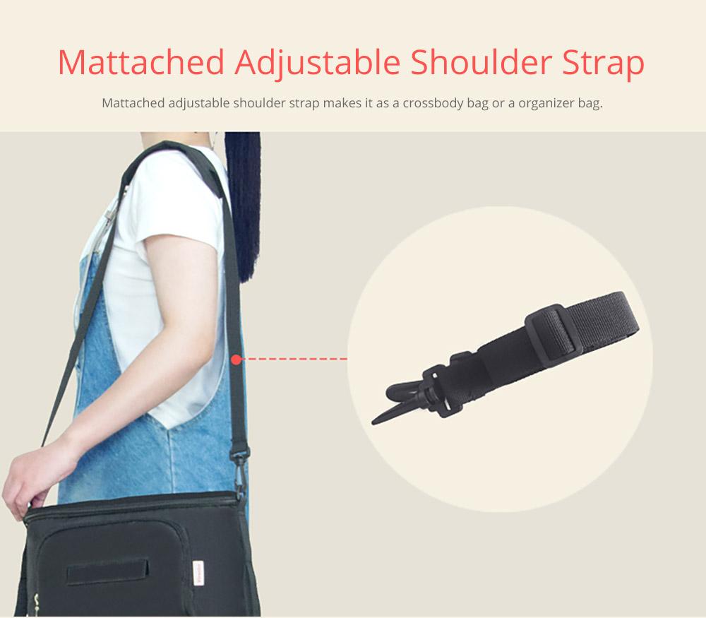 Stroller Organizer Bag with Matched Adjustable Shoulder Strap