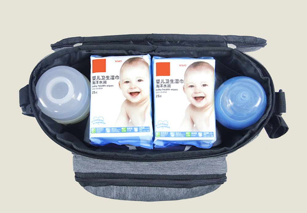 stroller organizer bag with Inside Multiple Compartments