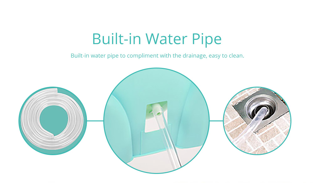 Built-in Water Pipe