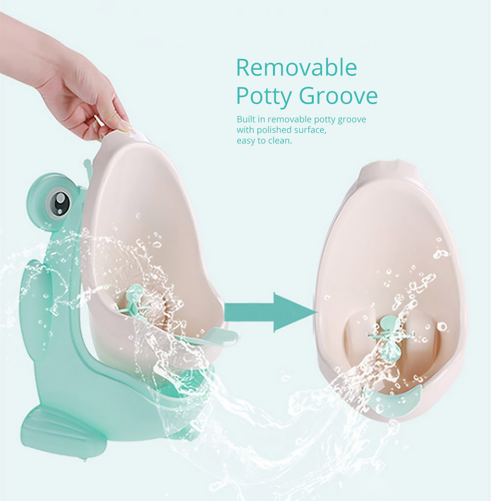 Removable Potty Groove