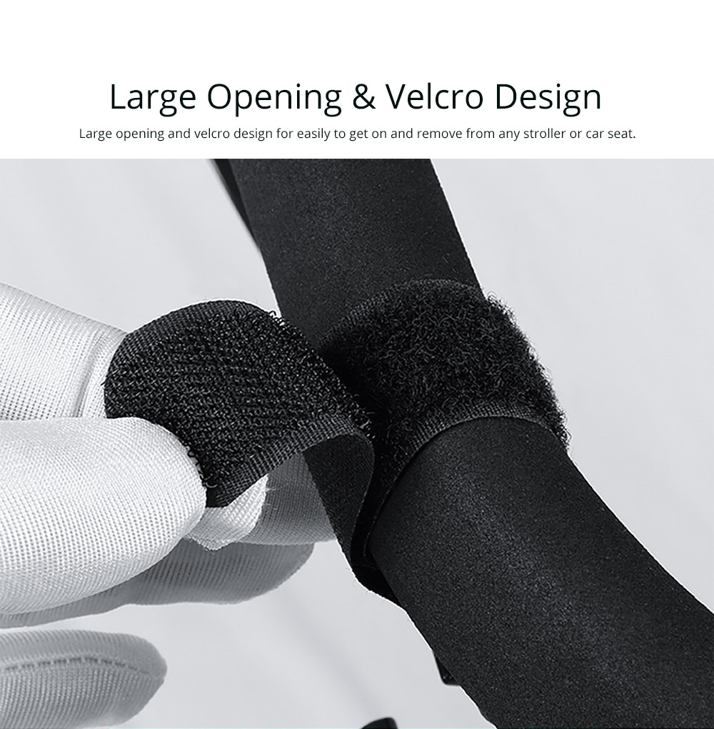 Large Opening & Velcro Design