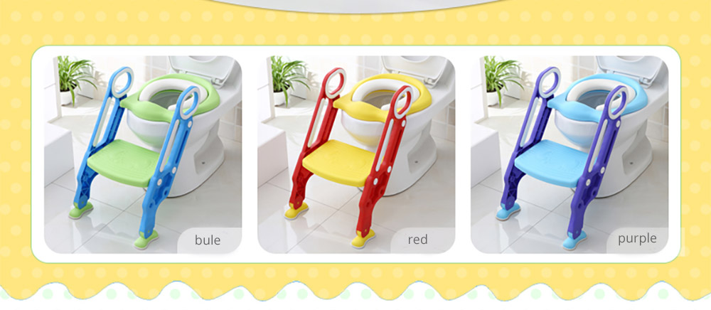 Toilet Training Seat with Non-slip Ladder