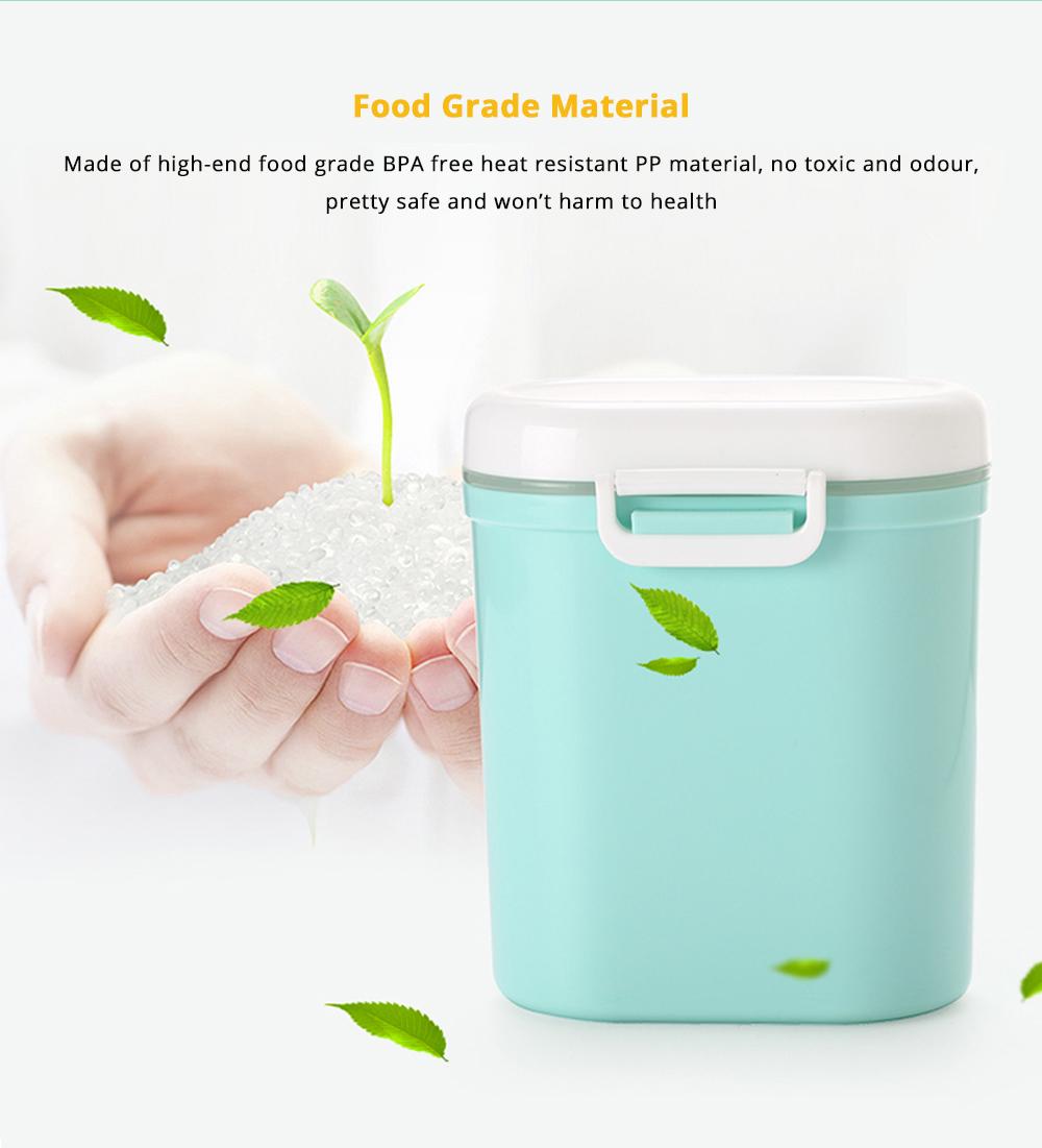 Multipurpose Milk Powder Storage Case Snack Cups, Microwave & Refrigerator Safe 8