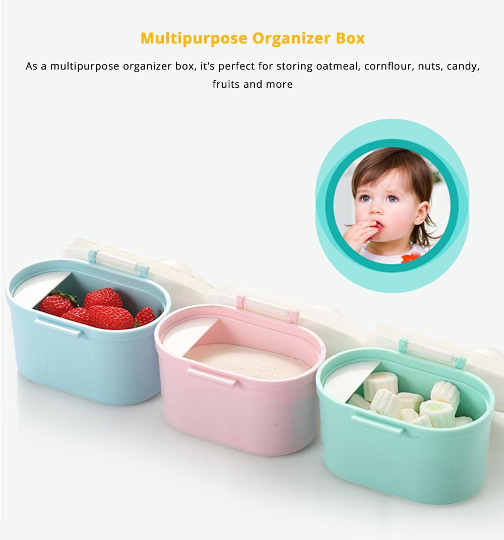 Multipurpose Milk Powder Storage Case Snack Cups, Microwave & Refrigerator Safe 9