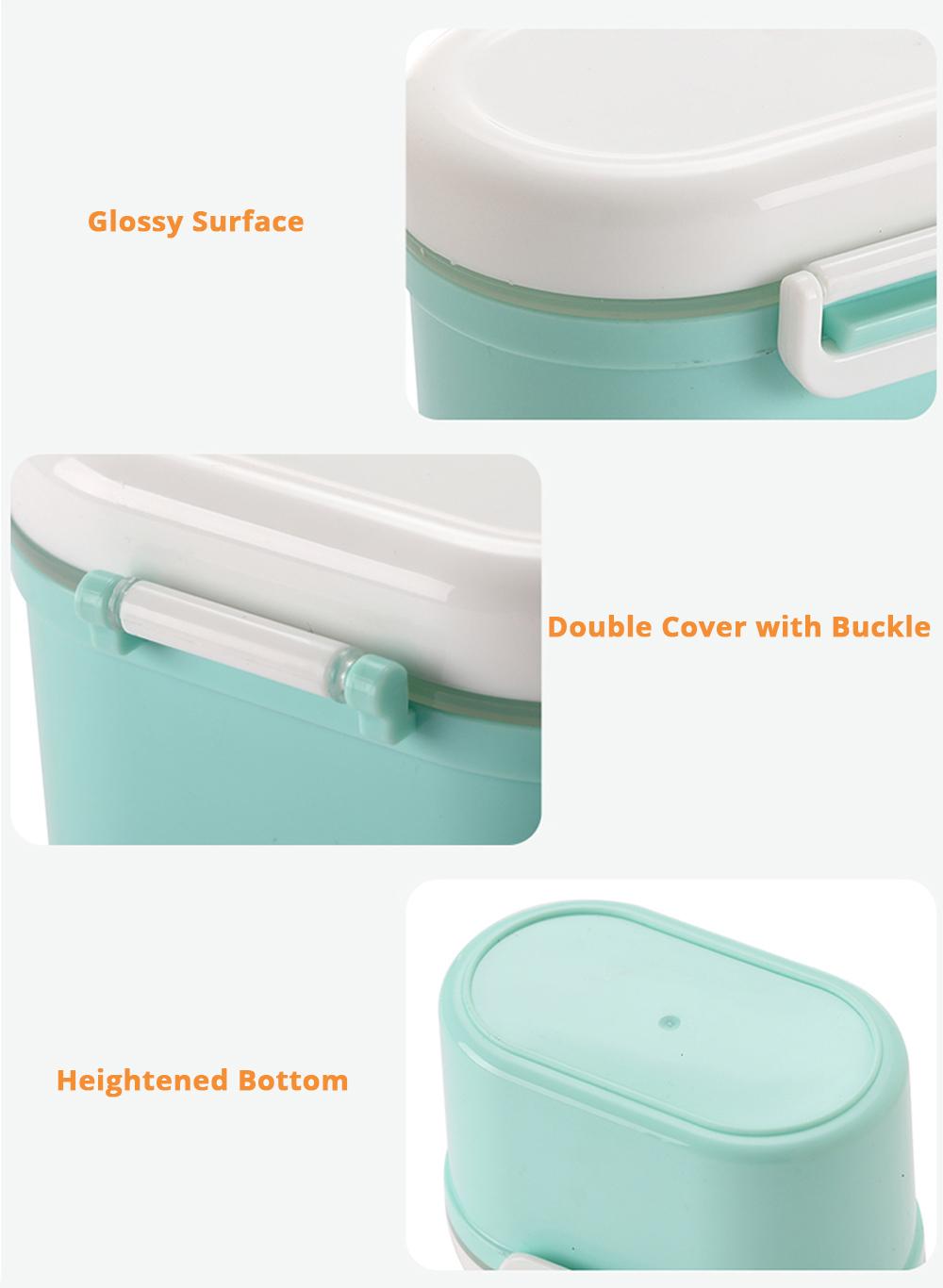 Multipurpose Milk Powder Storage Case Snack Cups, Microwave & Refrigerator Safe 13