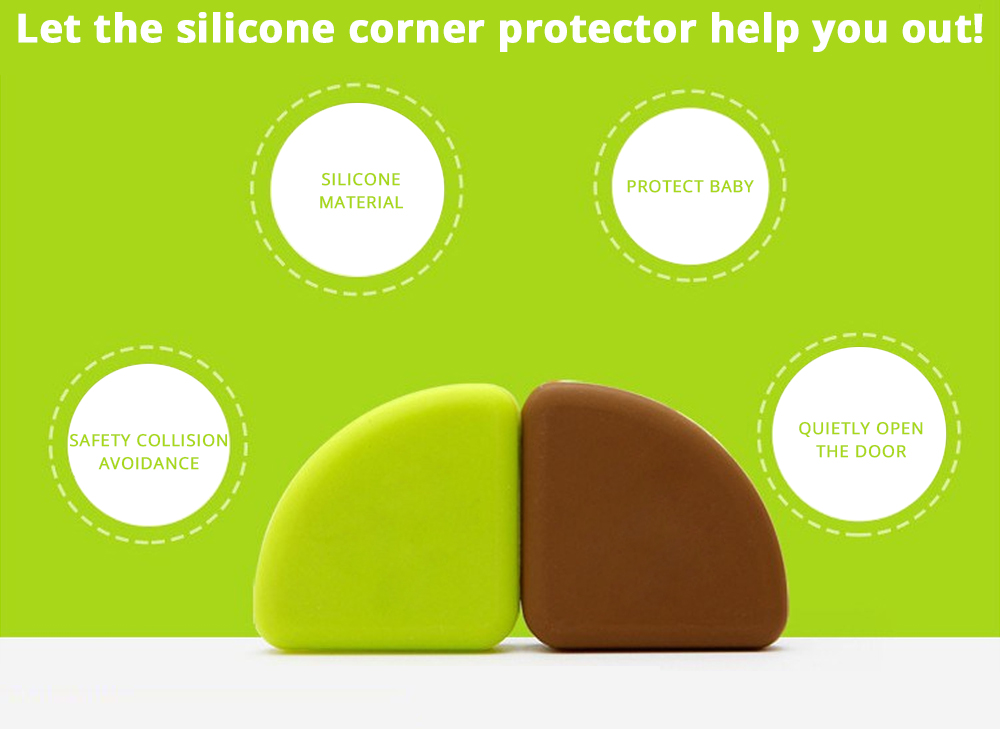 Flexible Collision Prevention Anti-impact Corner Protector