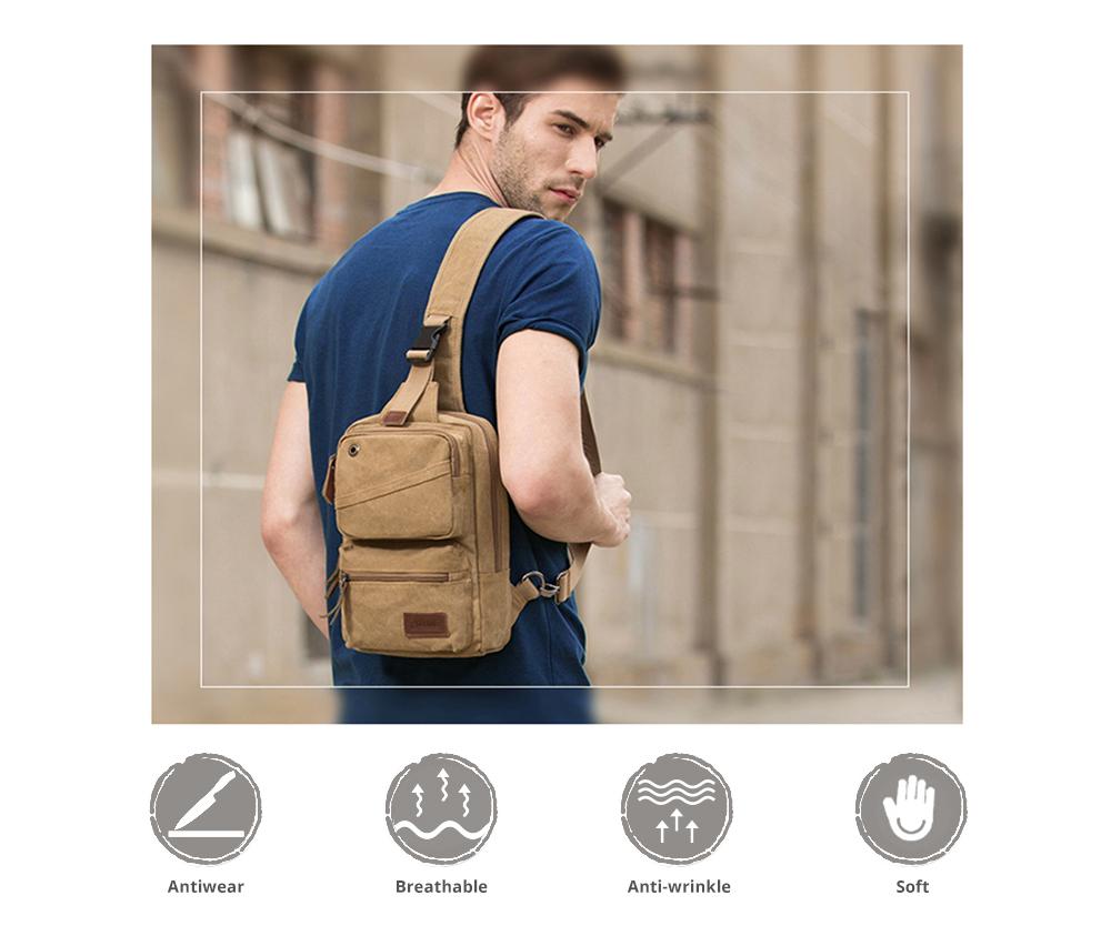 Vintage Durable Multipurpose Men's Crossbody Bag