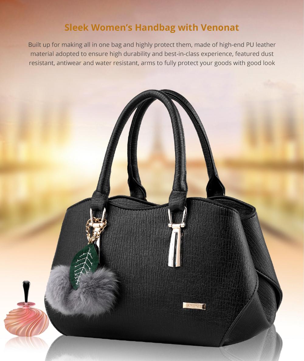 Sleek Women's Handbag with Venonat