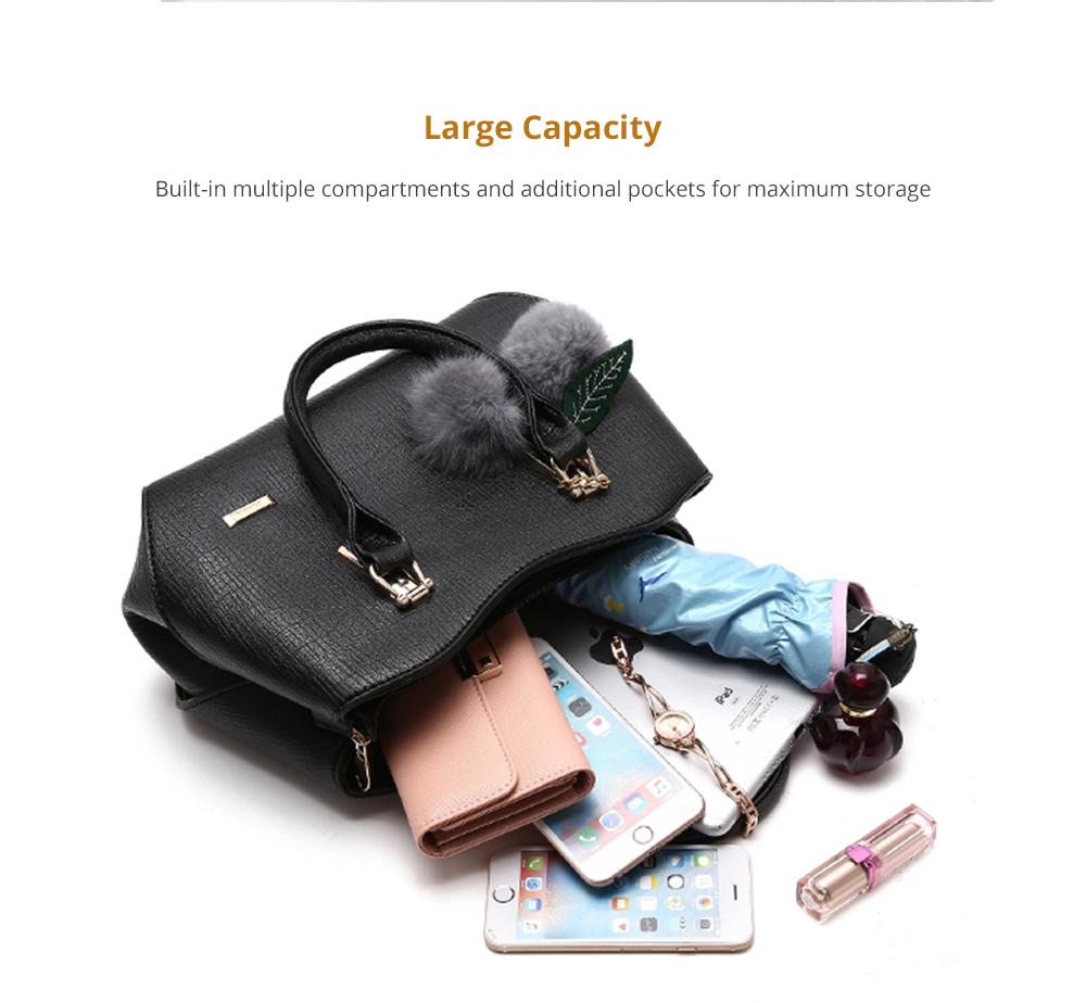 Large Capacity Women's Handbag with Venonat