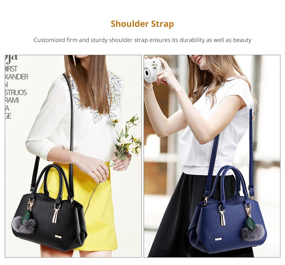 Sleek Women's Handbag with Shoulder Strap