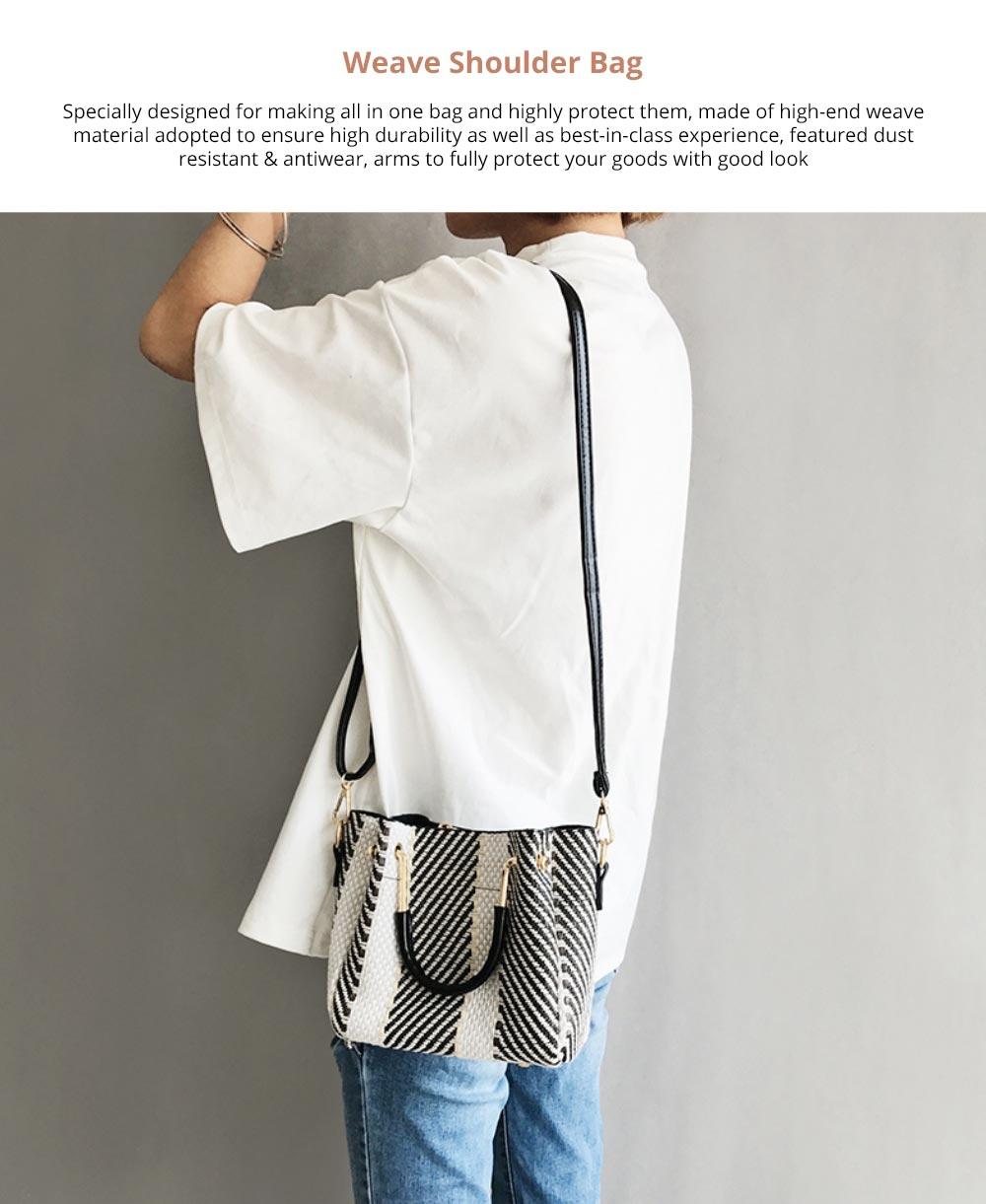 Weave Shoulder Bag