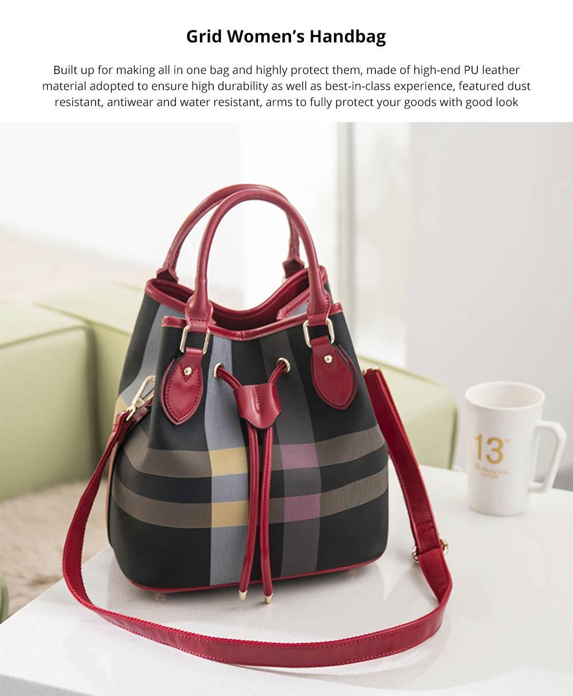 Grid Women's Handbag