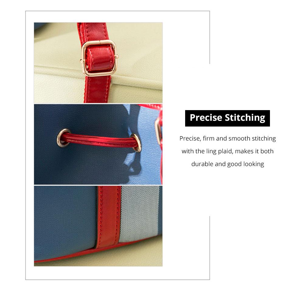 Elegant Grid Shoulder Bag for party