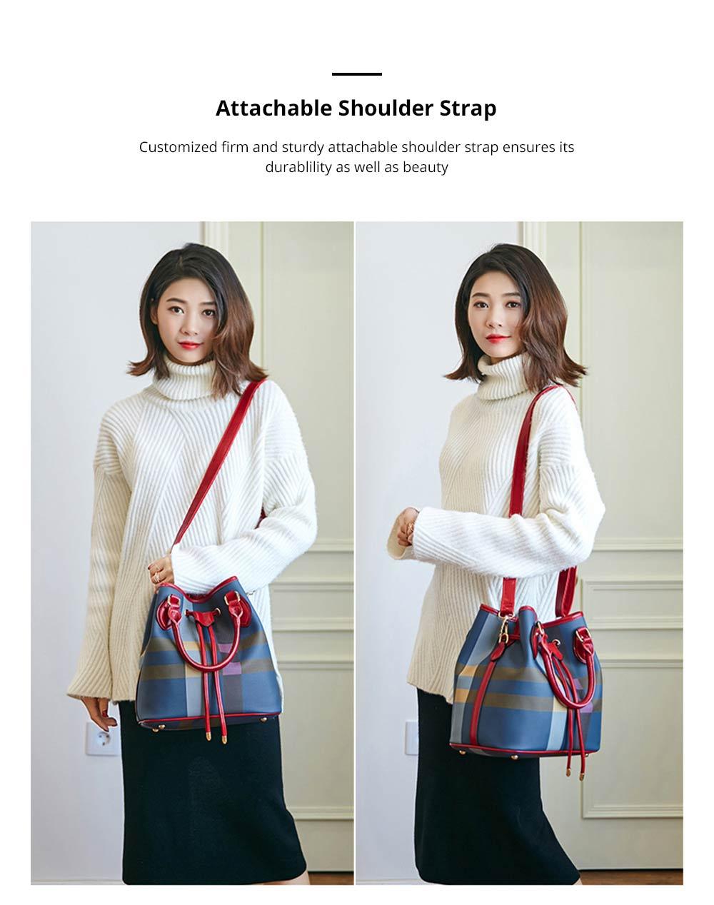 Elegant Grid Shoulder Bag for dating