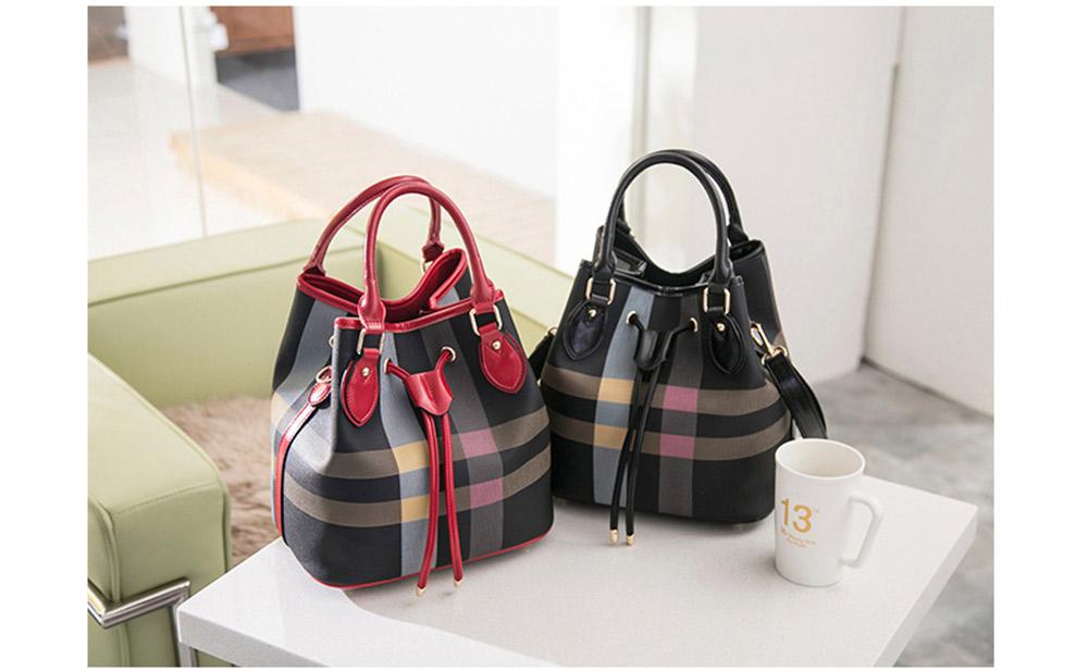 Color Blocking Women's Handbag