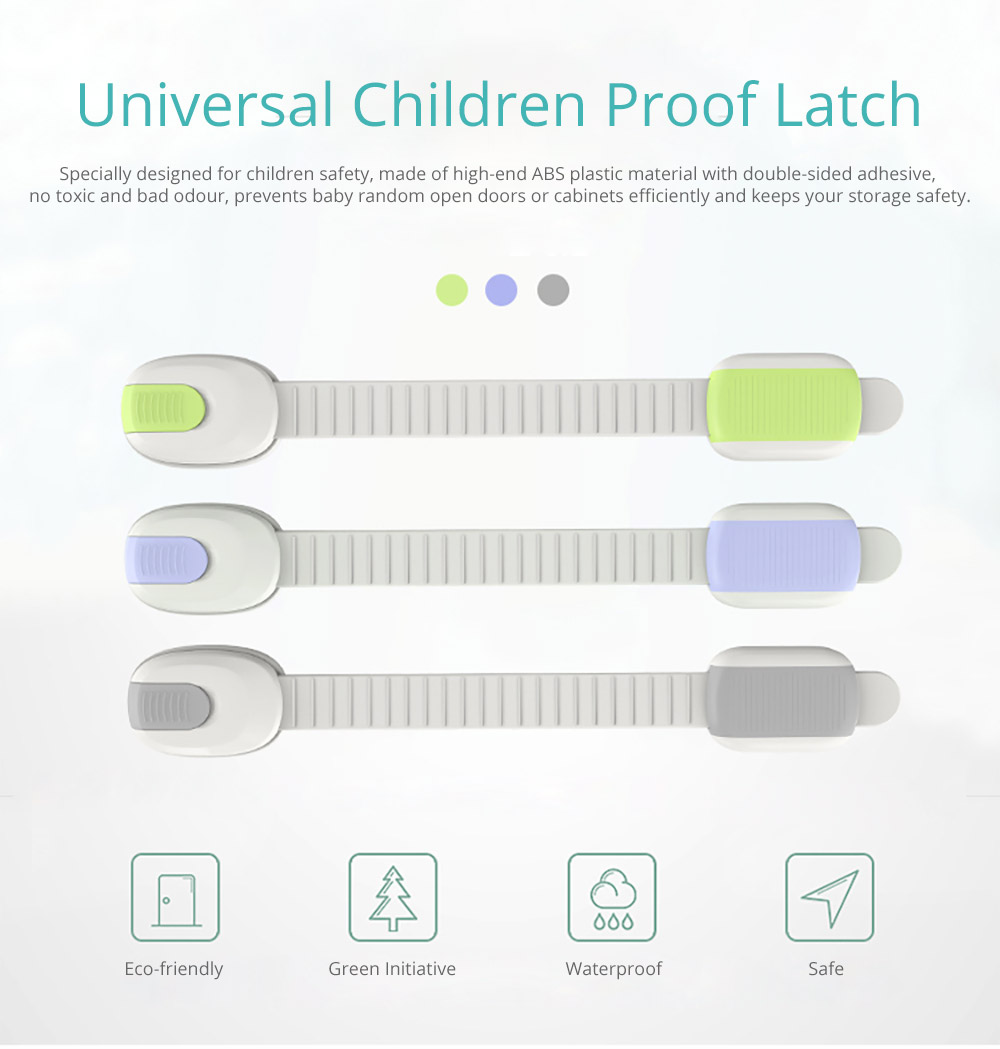 Universal Children Proof Latch