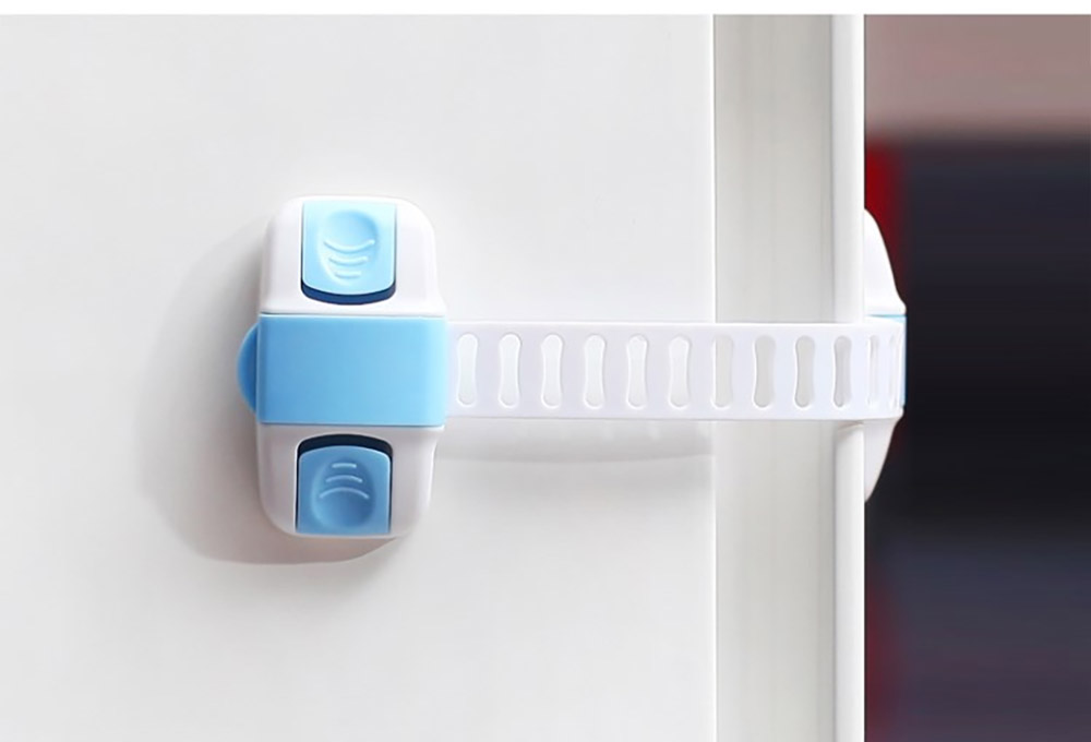 Baby Corner Guards Safety Accessories, Universal Adjustable Latch with 3M Double-sided Adhesive for Cabinets Drawers Toilets Children Proofing Lock 11