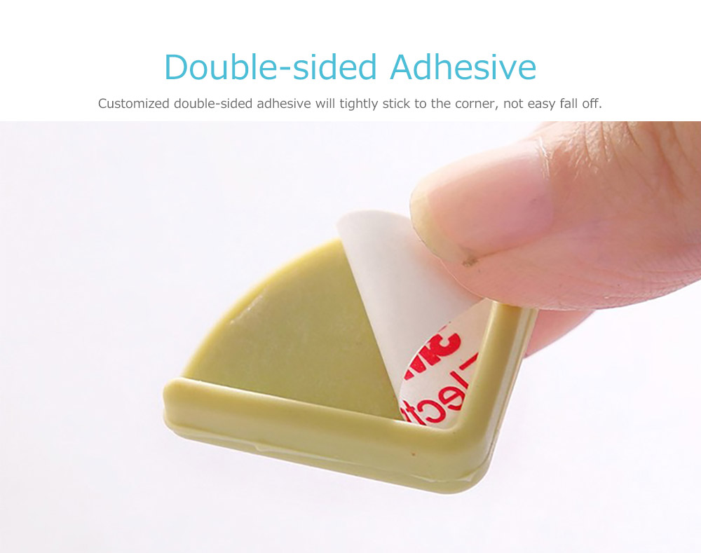 Universal Edge Safety Bumpers with Double-sided Adhesive for Furniture Against Sharp Corners 11