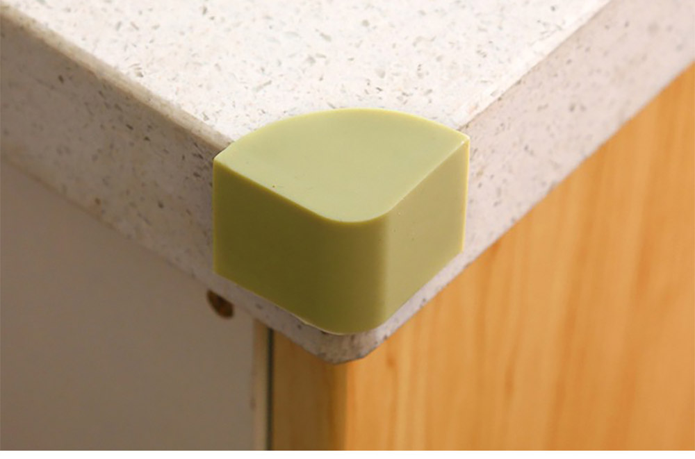 Universal Edge Safety Bumpers with Double-sided Adhesive for Furniture Against Sharp Corners