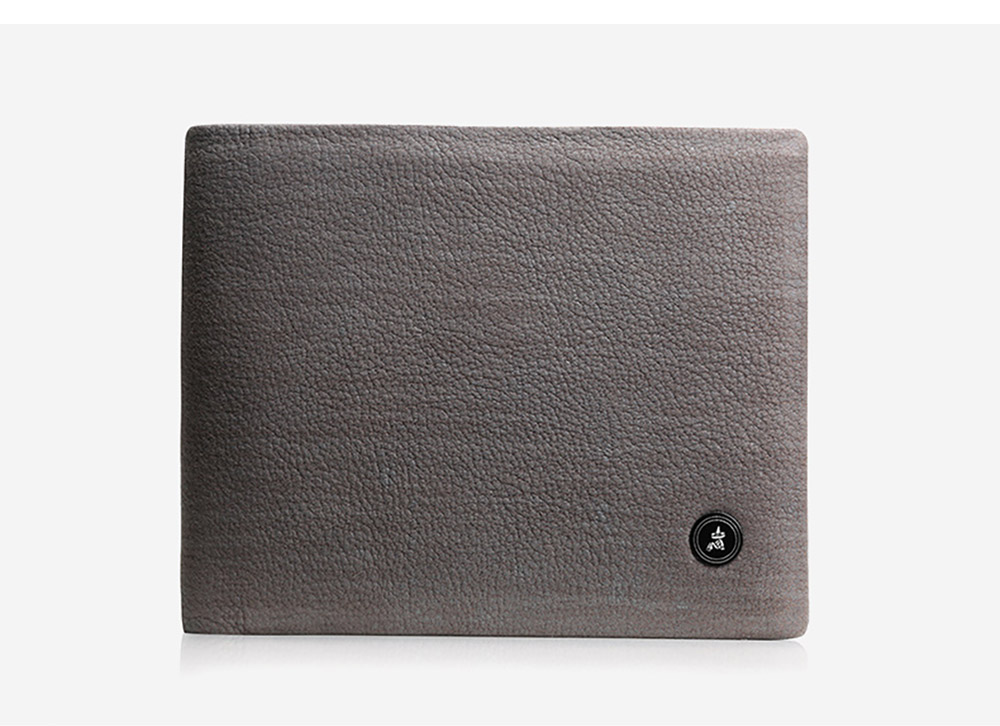 Fashionable Genuine Leather Men's Wallet with Multiple Compartments Card Slots, Foldable Lightweight Thin Soft Vintage Wallets for Men 14